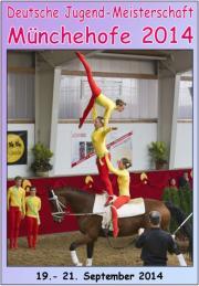Deutsche Jugendmeisterschaft Voltigieren M�nchehofe 2014