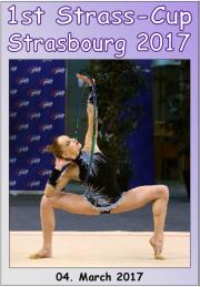 1st International Strass-Cup Strasbourg 2017