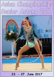 Asian Senior Championships Astana 2017